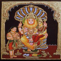 Narasimha, a félig ember félig oroszlán avatár