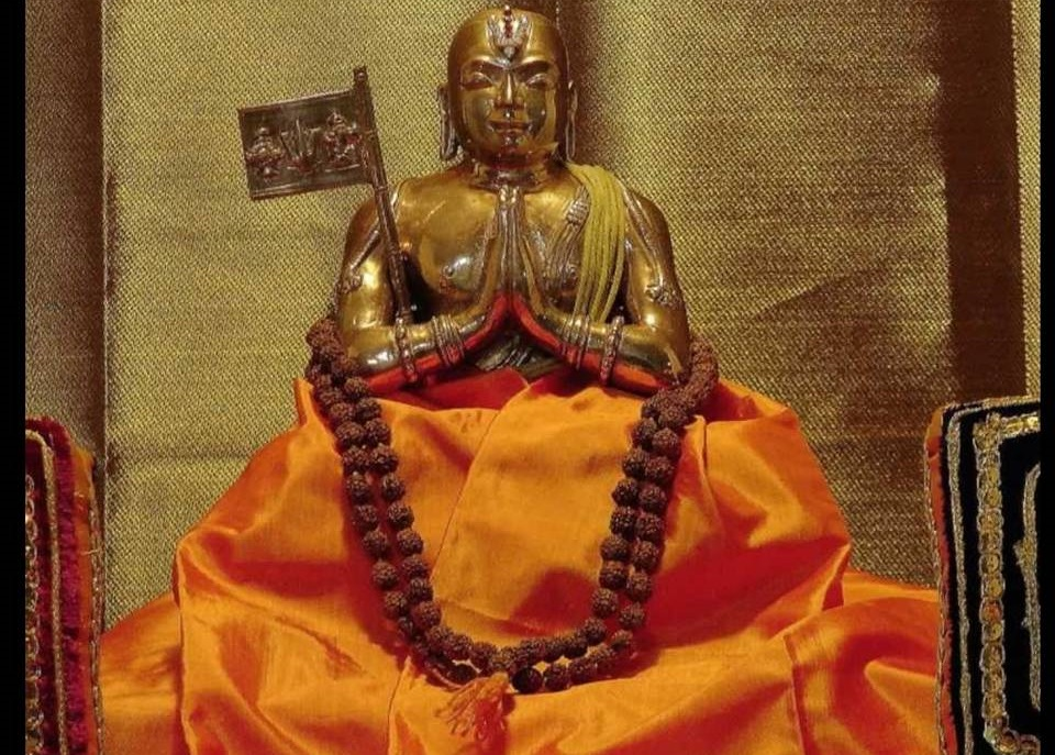 Ramanujacharya szobor Dél-Indiában