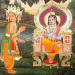 Brahmá felkeresi Krisnát