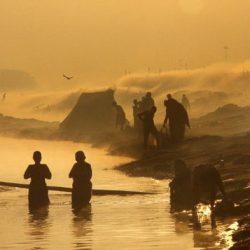Jamuna folyó Vrindaávanban