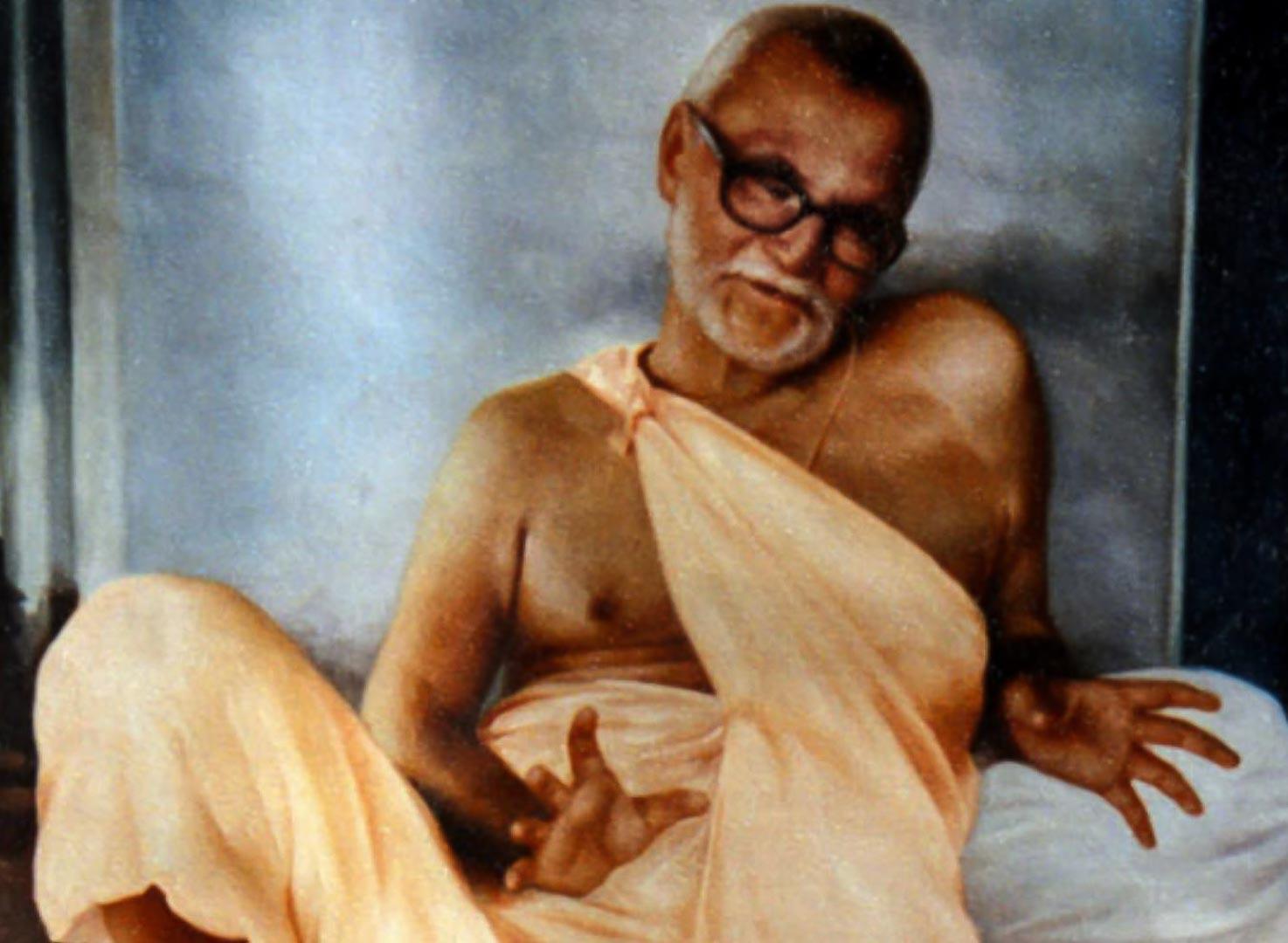 Bhakti Raksaka Sridhar Maharaja fiatal szanyásziként