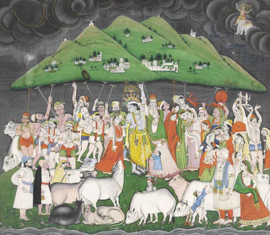 Govardhan puja indiai ünnep