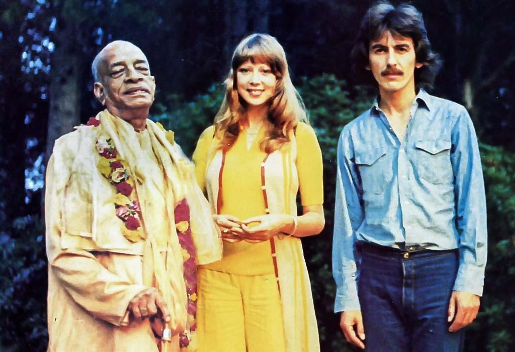 Prabhupada Geaorge Harrisson társaságában
