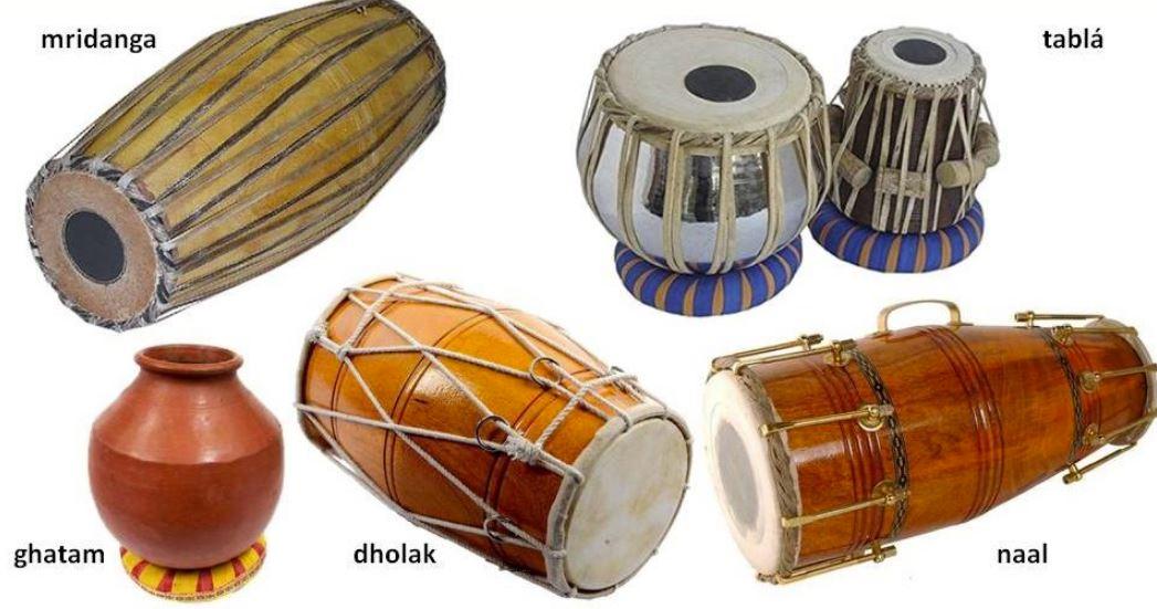 Indiai dobok fajtái: mridanga, khol és a többi