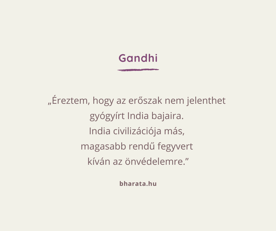 Mahátma Gandhi idézetek a spirituális mindennapra