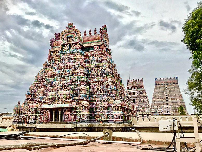 srirangam legnagyobb hindu templom
